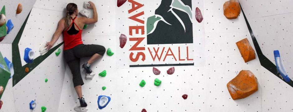Bouldering and Climbing at RavensWall, West London