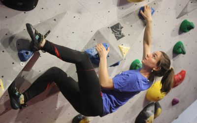 Climber at VauxEast